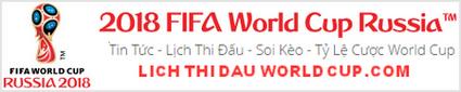Lịch thi đấu World Cup 2018