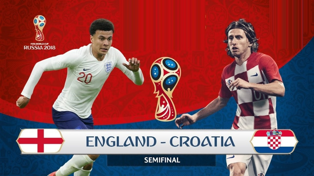 Nhận định Croatia vs Anh 1h ngày 12/7/2018