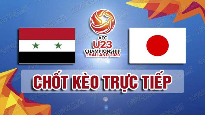 Nhận định tỷ số U23 Syria vs U23 Nhật Bản 20h15 ngày 12/01/2020